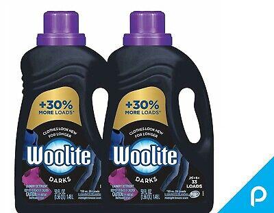 Woolite Dark Care Laundry Detergent, Midnight Breeze Scent, 50 oz/ 33 loads 2pk