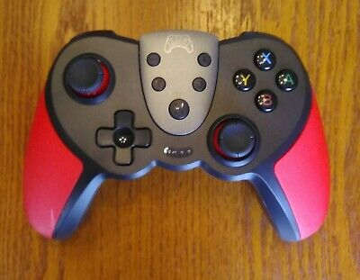 Switch Controller Wireless Rechargeable Gaming Video Game Controller Red