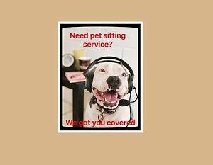 Dog walker/ pet sitting Edge Hill Cairns City Preview