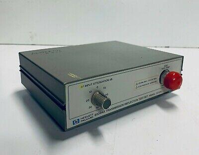 Hp Hewlett Packard Transmissionreflection Test Set 300 Khz - 3.0 Ghz