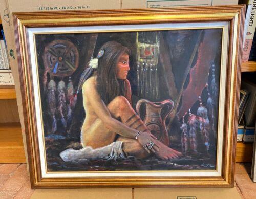 Jimmy Abeita Painting