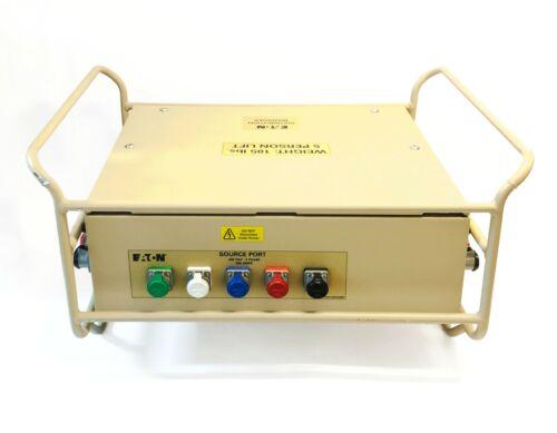 EATON RAKL-EMP00382 60KW 3-PHASE CAM-LOK PORTABLE POWER DISTRIBUTION PANEL