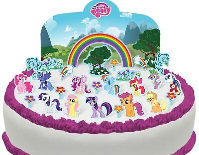 Cakeshop Essbare My Little Pony Szene Kuchen Dekoration ()