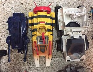 Vintage Gi joe toys vehicles