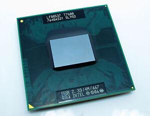 New Intel Core 2 Duo T7600 CPU 2.33GHz SL9SD Socket M