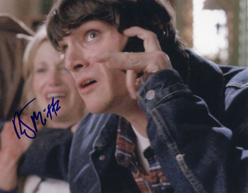 RJ Mitte Breaking Bad Walter White Jr. Signed 8x10 Photo w/COA #1