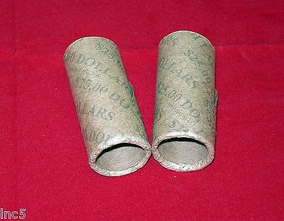 50  Preformed  Coin Wrappers  SBA* Dollars