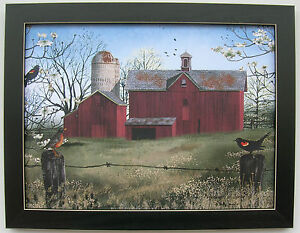 Harbinger of Spring Billy Jacobs Framed Country Primitive Pictures Prints