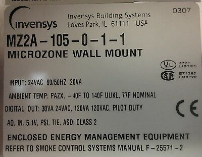 Invensys Mz2a-105-0-1-1