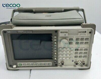 Hp 35670a Dynamic Signal Analyzer