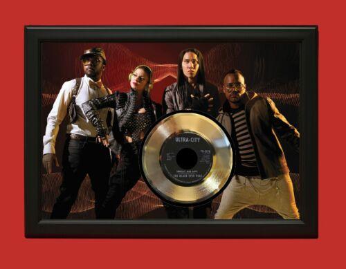 Black Eyed Peas Poster Art Wood Framed 45 Gold Record Display C3