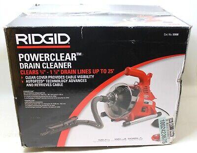 Ridgid Powerclear Drain Cleaner Drain Snake 55808 - New In Box