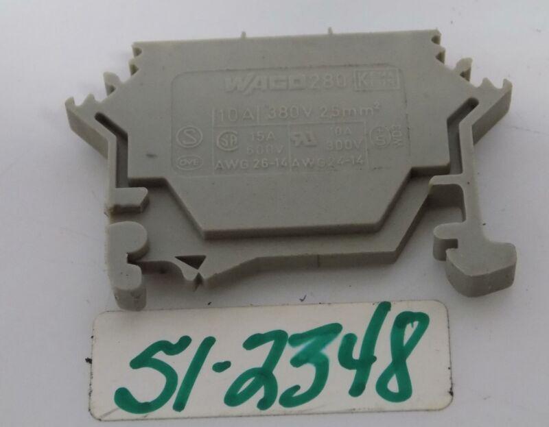 WAGO 280 LOT OF 3 TERMINAL BLOCK 10AMP 380V