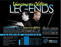 Dan Inosanto and Francis Fong in Vancouver