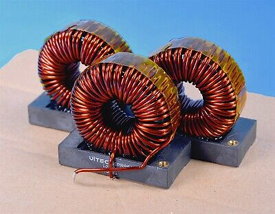 3 Toroid 550uh High-current Audio Battery Or Crossover Midrange Inductors High Q