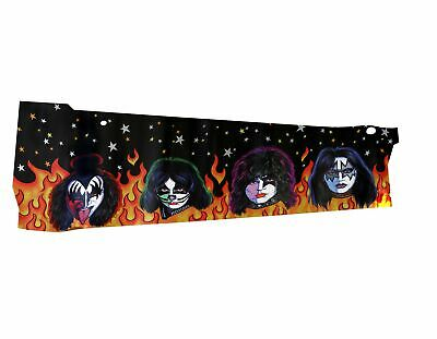 Stern Pinball Pinball Sticker for Kiss le Decal Cabinet Left Germany #820-66H2