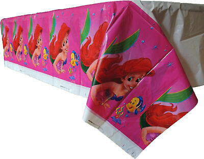 ARIEL THE LITTLE MERMAID  Themed Table cover Cloth Birthday Party](Little Mermaid Party Themes)
