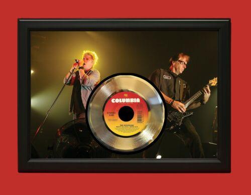 Offspring Poster Art Wood Framed 45 Gold Record Display C3