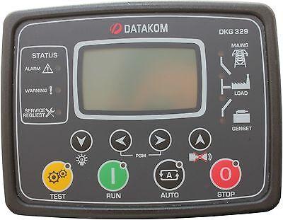 Datakom Dkg-329 Generator Mains Automatic Transfer Switch Control Panel Ats