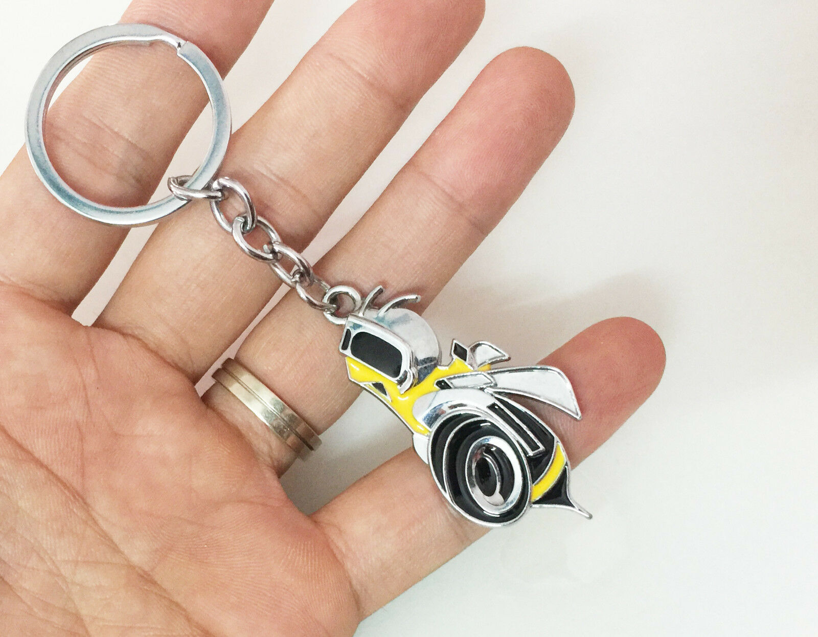 dodge charger scat pack keychain New Metal super bee Bee Scat Pack Keychain Dodge SRT Keyring