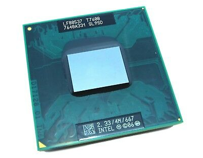 Used, New Intel Core 2 Duo T7600 CPU 2.33GHz SL9SD **Ship From US** for sale  Shipping to Canada