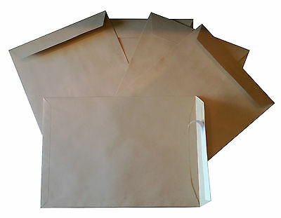 250 Stück Briefumschläge C4 229x324 mm haftklebend braun Versandtaschen A4