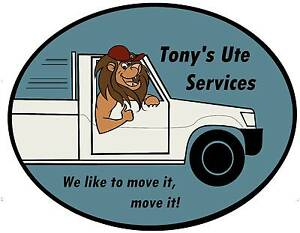 Tony's Ute Services - furniture and goods moving / delivery Currambine Joondalup Area Preview
