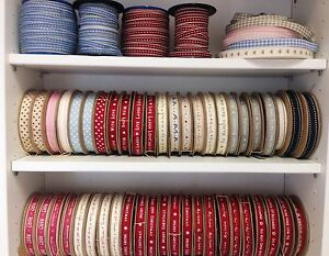 EAST-OF-INDIA-CHRISTMAS-RIBBON-1-3-METRES-MANY-DESIGNS-VARIES-SOLD-FOR-HOSPICE