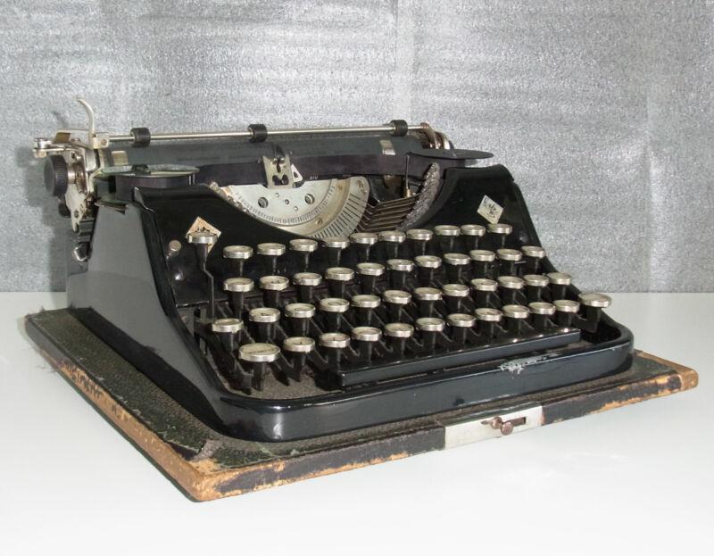 Vintage Mercedes Typewriter Zella-Mehlis Thüringen Model B