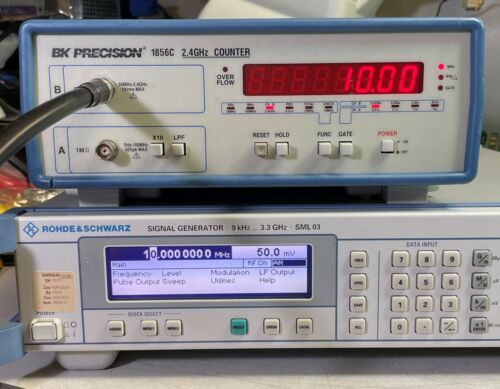 BK Precision 1856C 2.4GHz Frequency Counter