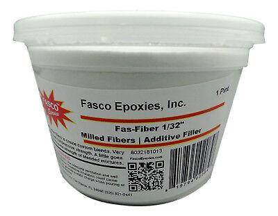 """1/32"""" Fiberglass milled fibers Pint"""