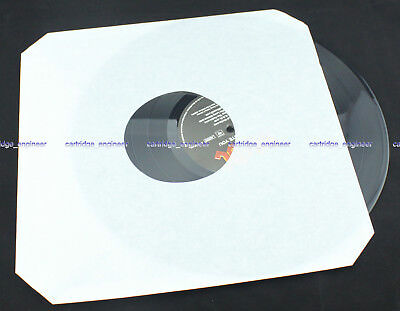 "NEW 500PCS/LOT 12"" WHITE PAPER INNER RECORD SLEEVES FAST SHIP BY FEDEX"