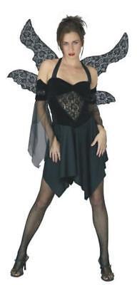 Serephine the Fallen Angel Dark Goth Sexy Adult Costume Small - Adult Fallen Angel Costume