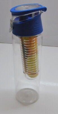 Schorle Flasche (wimports Trinkflasche mit Fruit-Ei und Flip Deckel Wasserflasche Frucht Schorle)