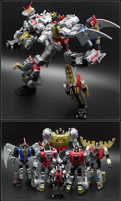 HASBRO Power of  Primes Grimlock Slug Swoop Sludge Snarl Slash Dinobot COMBINER