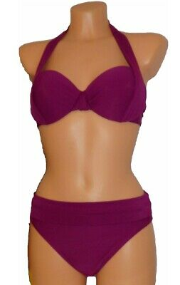 Cup Bikini (HEINE Bikini Softcup Neckholder mit Bügel Cup D NEU)