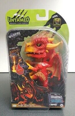 FINGERLINGS UNTAMED DRAGON WILDFIRE RED ACTION FIGURE - NEW & SEALED!