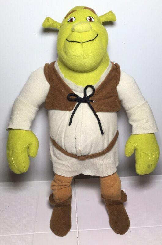 "Shrek 2 The Ogre Plush Dreamworks 2004 Nanco 14""  Stuffed Animal Toy Plushy"