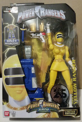 Power Rangers Zeo Yellow Ranger Gamestop Exclusive Legacy Collection In Hand