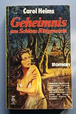 Geheimnis um Schloss Rütgenstein Roman Carol Heims Xenos 1978 223 Seiten ()