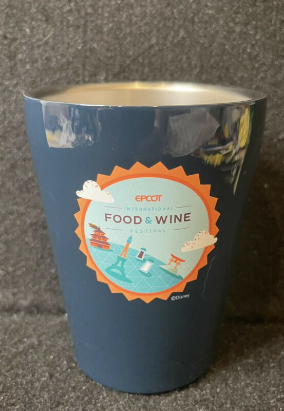 Disney Epcot International Food And Wine Festival 2021 Corkcicle Small Cup