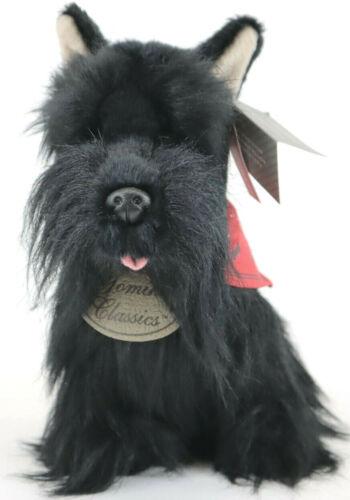 New Fao Schwarz Floppy Dogs Plush Yomiko Classic Scottish Terrier Stuffed Animal
