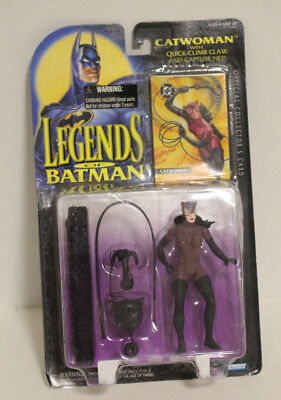 Catwoman Hat (NEW MIB KENNER Legends of Batman CATWOMAN with Quick-Climb Claw and)