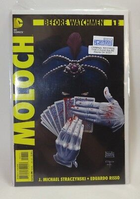 MOLOCH before watchmen 2013 Comic book #1 of two RATED M nip  DC Comics NEW