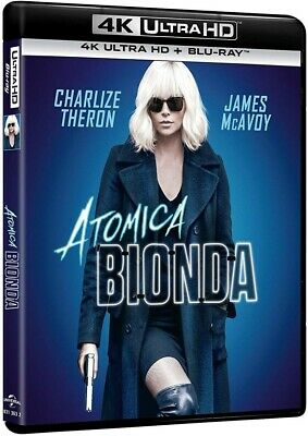 ATOMIC BLONDE (Charlize Theron) 4K Ultra HD + - Blonde Superhelden
