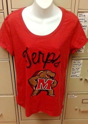Ncaa Maryland Terrapins Womens T Shirt  Terps  X Large Brand New