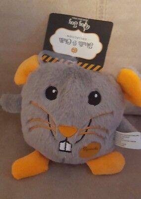 Halloween Rat Pet Dog Squeaker Toy