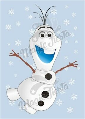 Pin The Nose on Olaf Game -15 Players A3 size](Pin The Nose On Olaf)