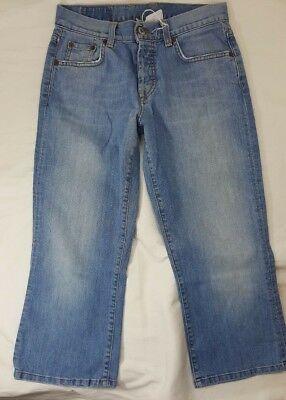' LUCKY BRAND Womens Easy Rider Crop Blue Jeans Denim Size 4 27 Easy Rider Crop