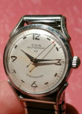 Vintage ELGIN Shockmaster 17J Automatic Durapower Watch Cal. 643